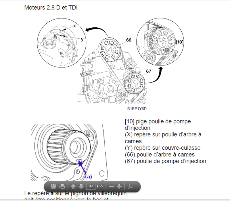 CALAGE MOTEUR IVECO DAILY 2,8l  Captur10
