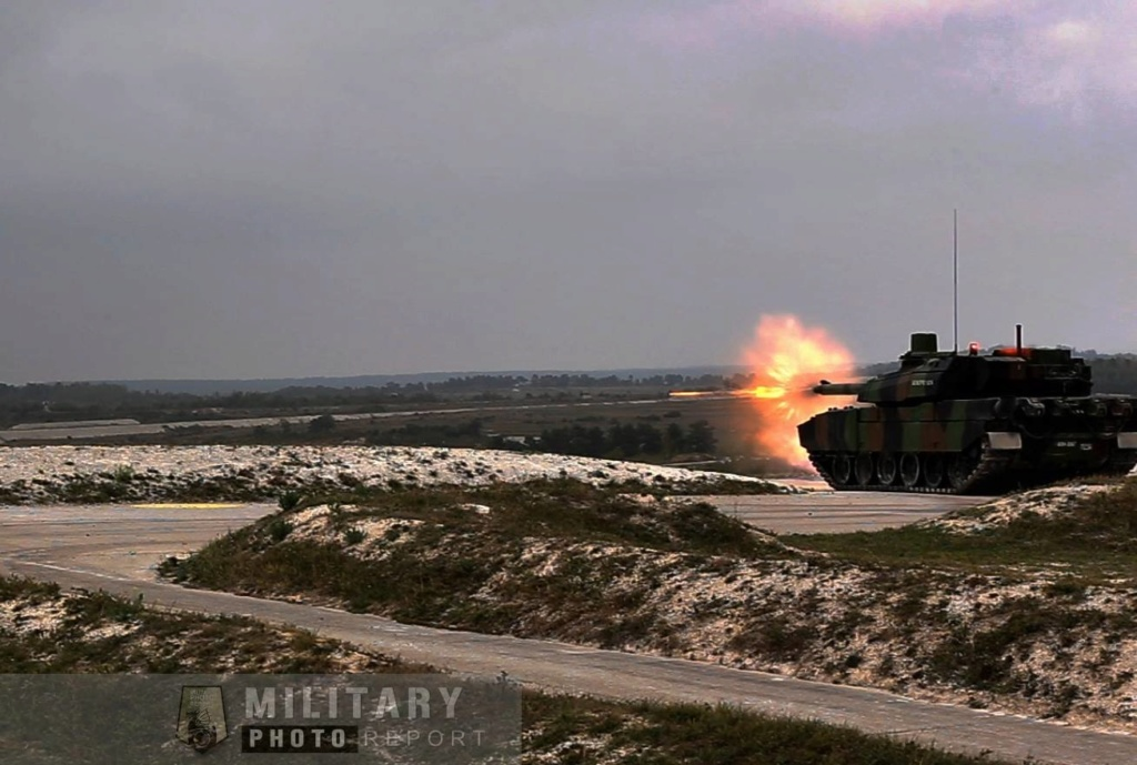 Tirs de char Leclercs du 5eme regiment  de Dragons 44501710