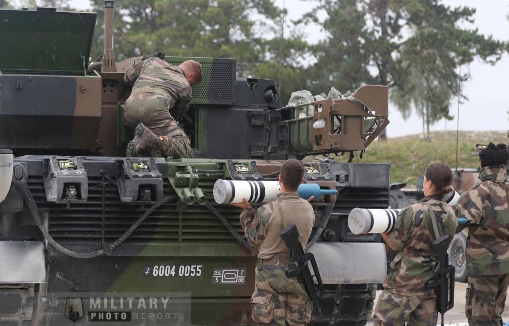 Tirs de char Leclercs du 5eme regiment  de Dragons 44502010
