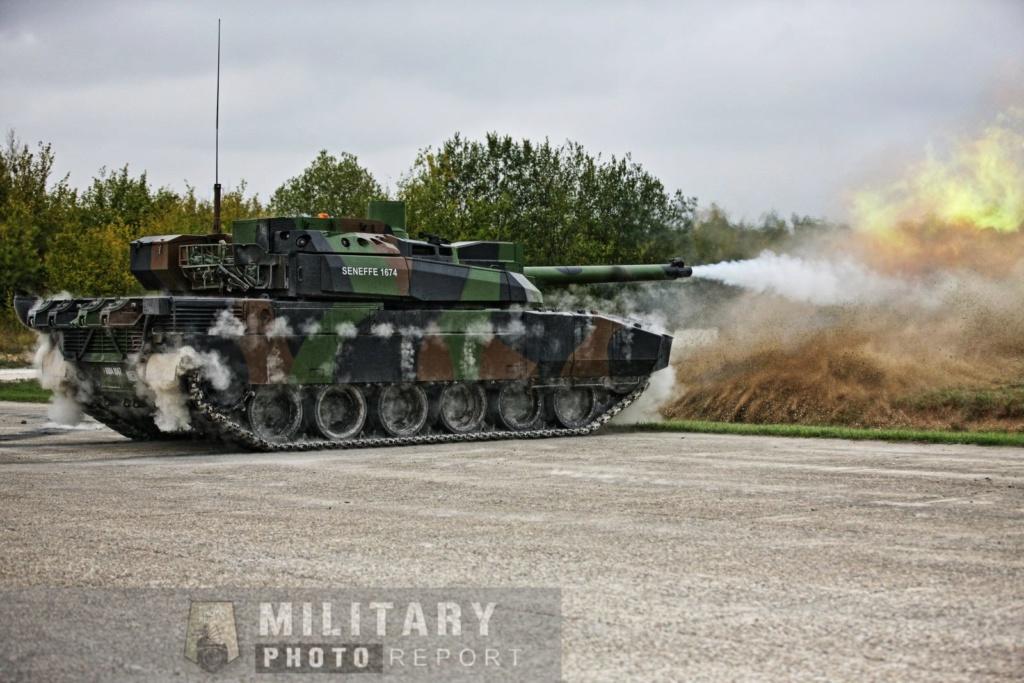 Tirs de char Leclercs du 5eme regiment  de Dragons 44657111