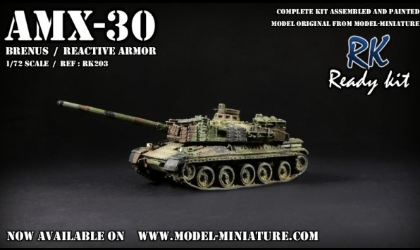 Ready Kit: Pick up, VBCI FINUL, AMX-30 Brenus, M-88 Hercules  Amx-3011