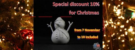 Réduction spéciale Noël !!! 10% sur tout le site de M-M Bannie10