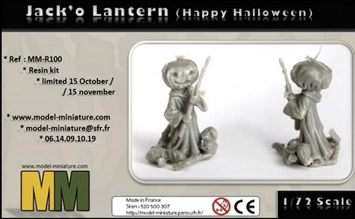 Figurine Jack'o Lantern offerte dans votre commande MM Hallow10