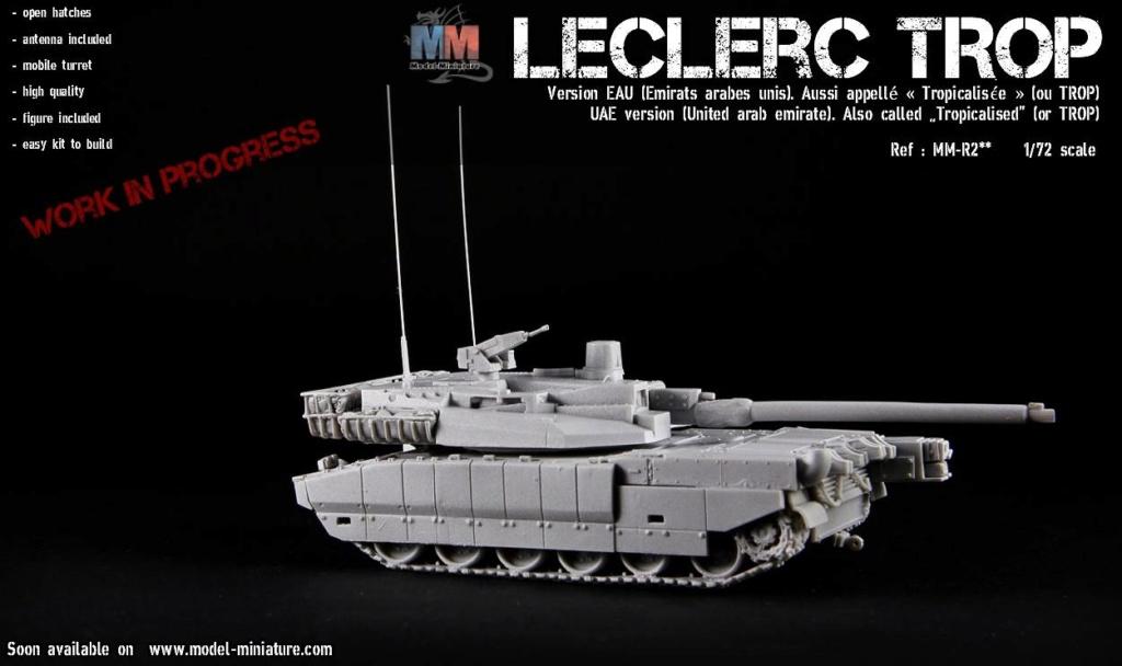 Bientôt, plusieurs version de Leclerc au 1/72 Lecler10
