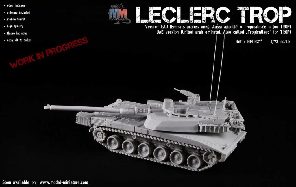 Bientôt, plusieurs version de Leclerc au 1/72 Lecler11