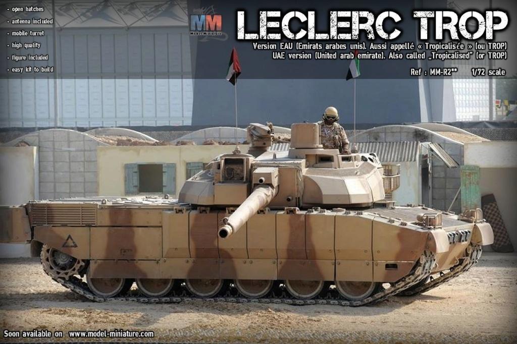 Bientôt, plusieurs version de Leclerc au 1/72 Lecler12