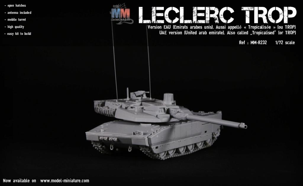 Leclerc MTB et Leclerc« TROP » , Model Miniature, 1/72 Lecler14