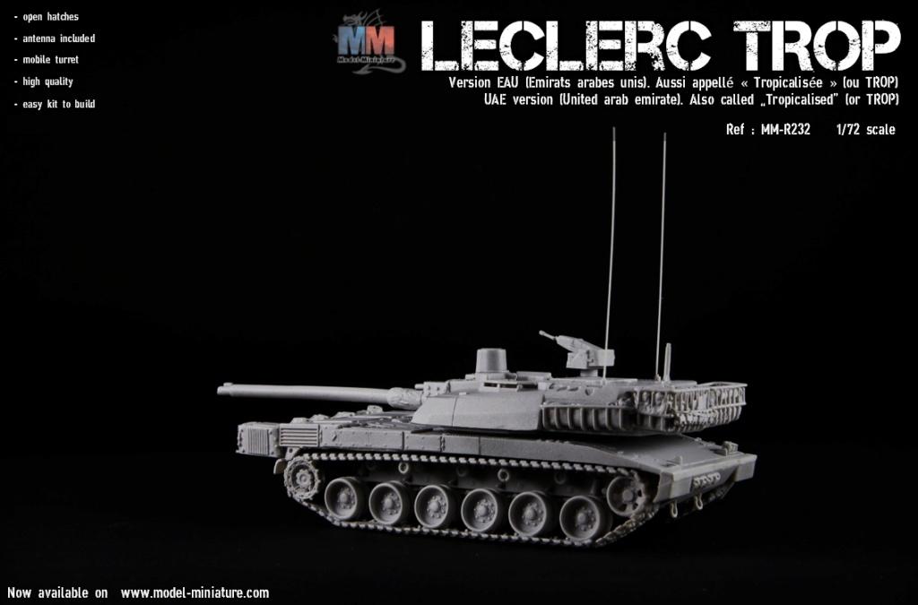 Leclerc MTB et Leclerc« TROP » , Model Miniature, 1/72 Lecler15