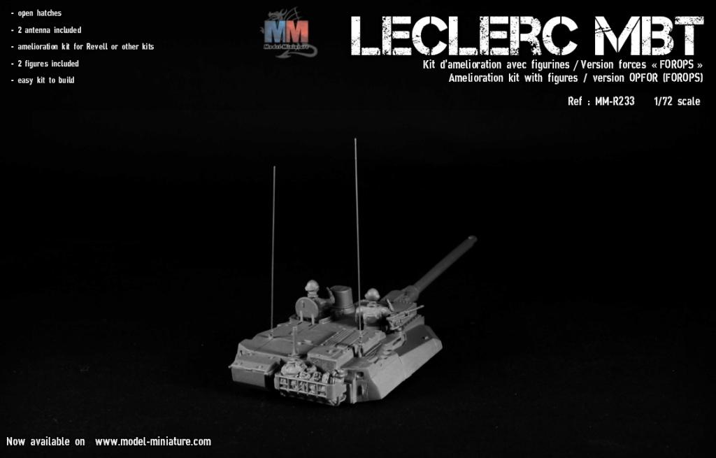 Leclerc MTB et Leclerc« TROP » , Model Miniature, 1/72 Lecler17
