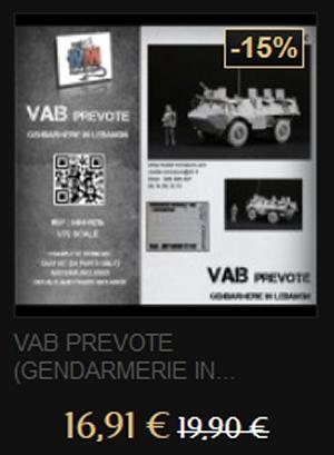 DEUXIEME DEMARQUE:  Soldes sur Model Miniature Vab10