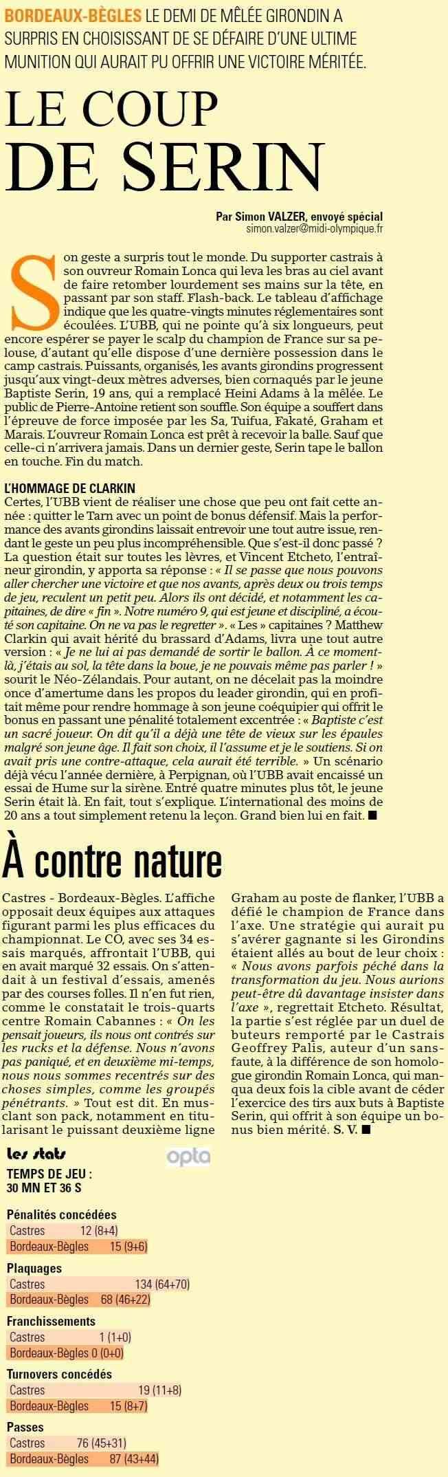 TOP 14 - 16ème journée : Castres Olympique / UBB - Page 7 Sans_t78