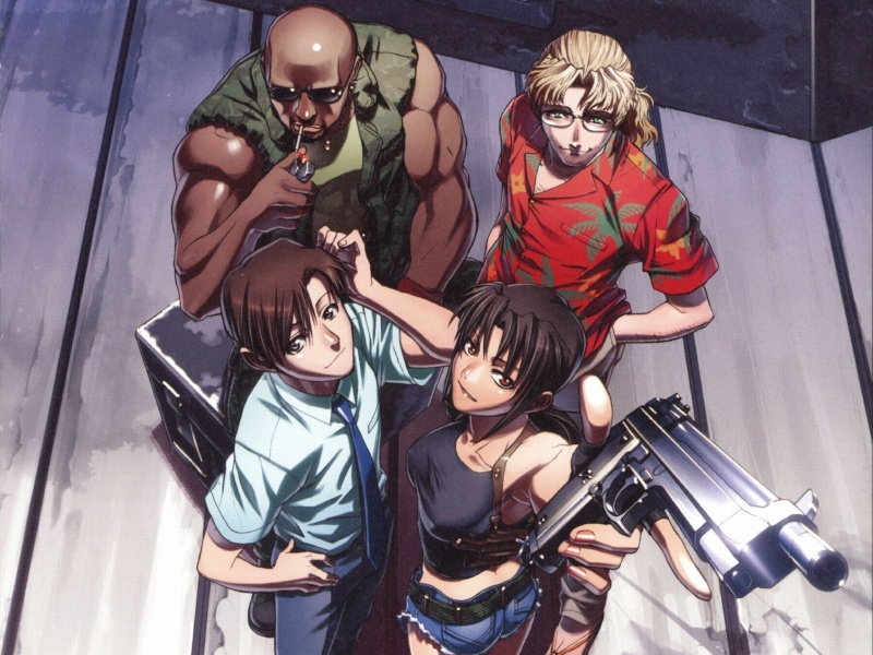 [MANGA/ANIME] Black Lagoon  Black-10