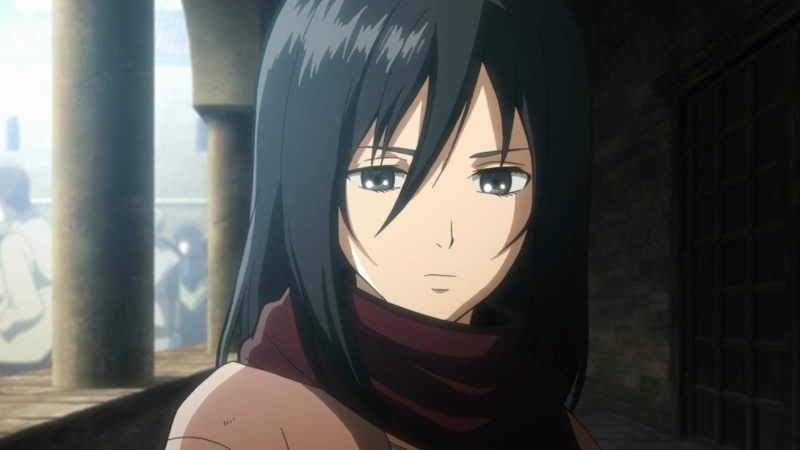 TOP 10 : Personnages féminins - Page 2 Mikasa10