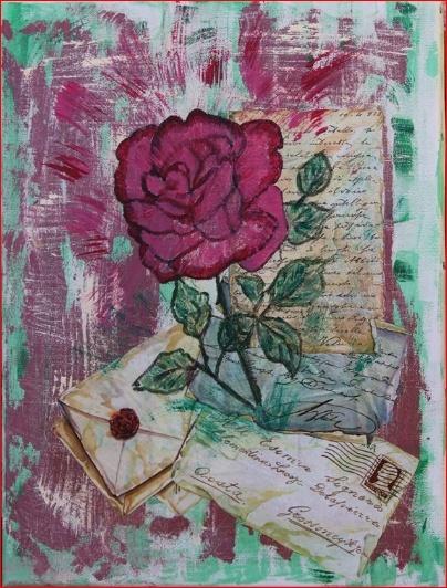 Petites créations de Sylvie - Page 2 Rose_v10