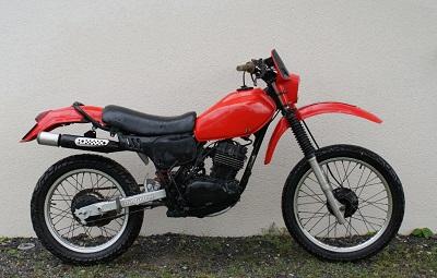 HONDA 250 XLS 1982 Cafe Racer Zxuv10