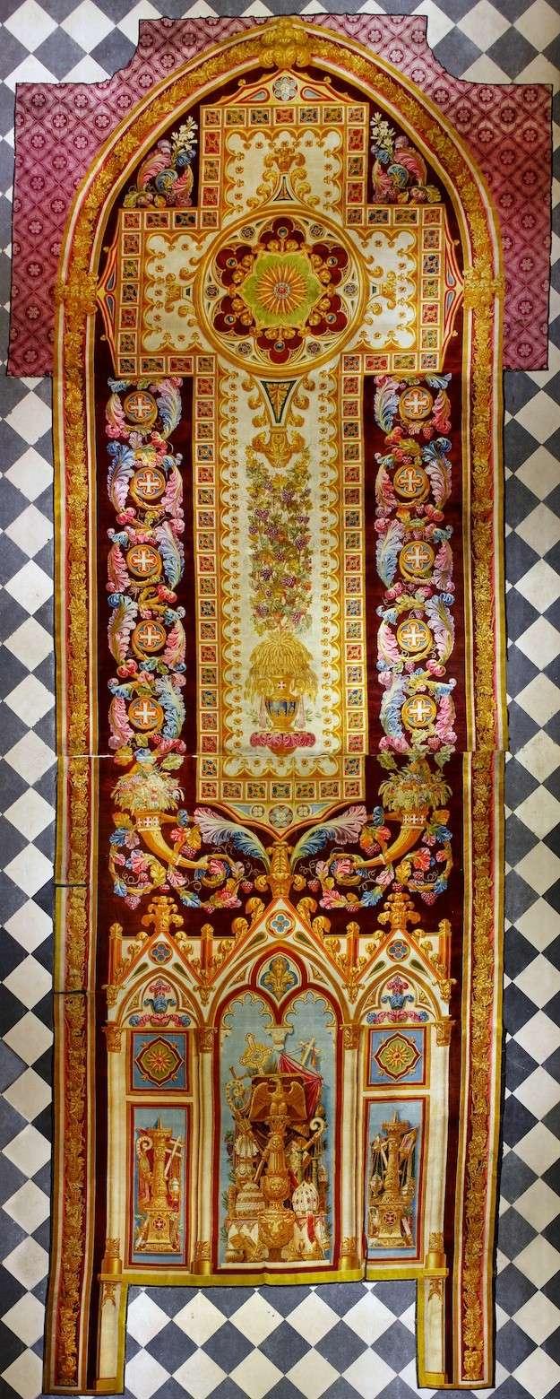 Notre-Dame de Paris. Exposition « Tapis du choeur » Nd-tap10