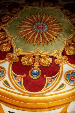 Notre-Dame de Paris. Exposition « Tapis du choeur » Nd-tap11