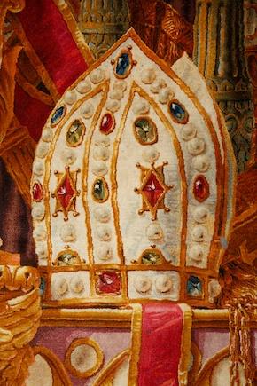 Notre-Dame de Paris. Exposition « Tapis du choeur » Nd-tap15
