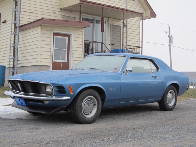 Ford Mustang Coupe 1970...à vendre!! Janvie11