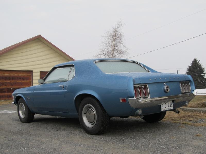 Ford Mustang Coupe 1970...à vendre!! Janvie12
