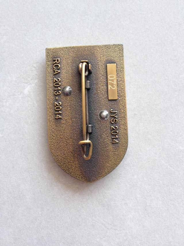 Sangaris (RCA) - Insigne du 8ème RPIMA Img_3812
