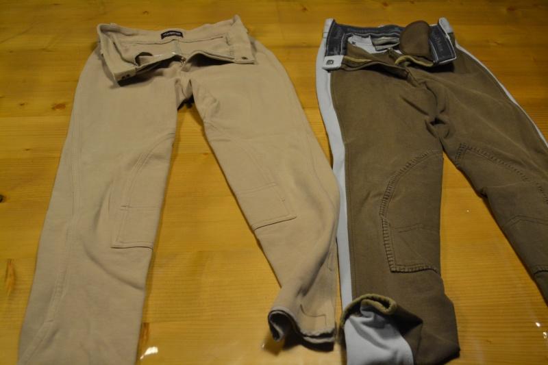 equipements equitation enfants : pantalon - bombe - gant - gilet... Dsc_0713