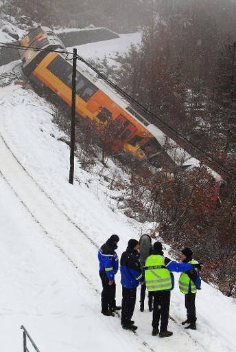 Accident du train des pignes,vidéo et photos. A11