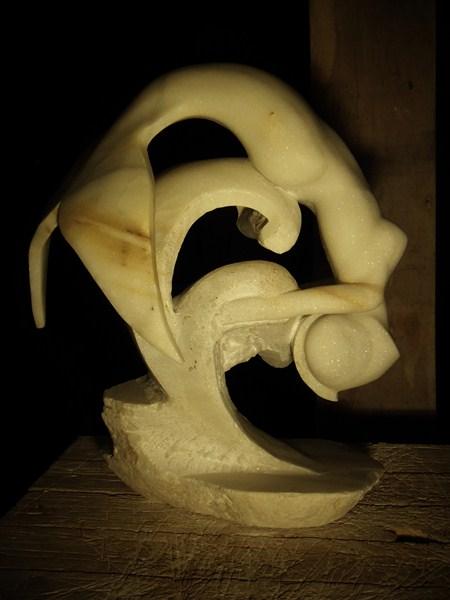 Gamin- Poisson en marbre :) P1020111