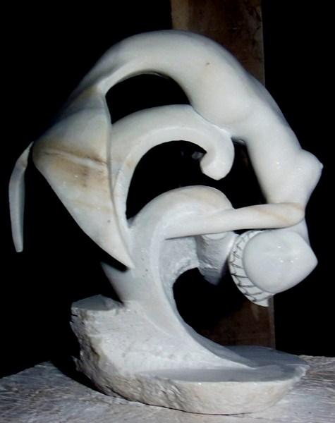Gamin- Poisson en marbre :) P1030010
