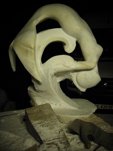 Gamin- Poisson en marbre :) Pb270010
