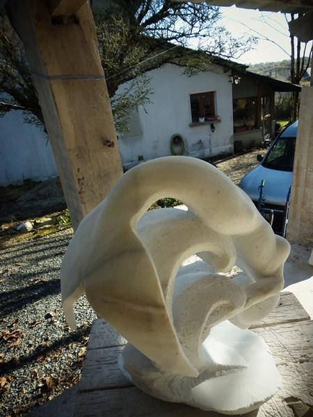 Gamin- Poisson en marbre :) Pc010014