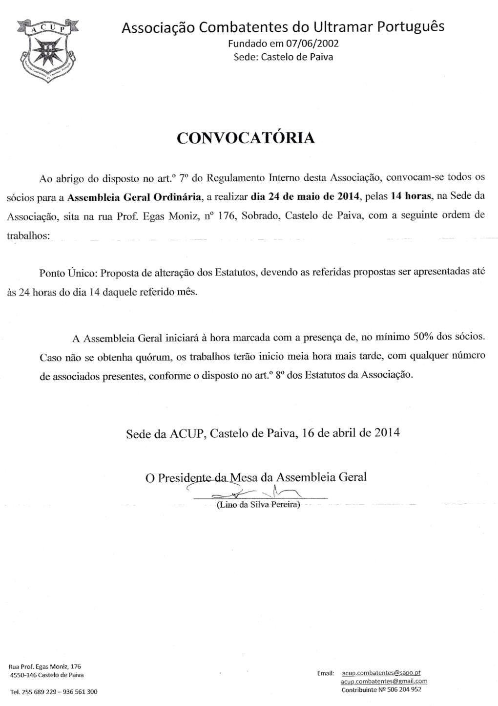 Notícias da ACUP - Associação de Combatentes do Ultramar Português 01_con10