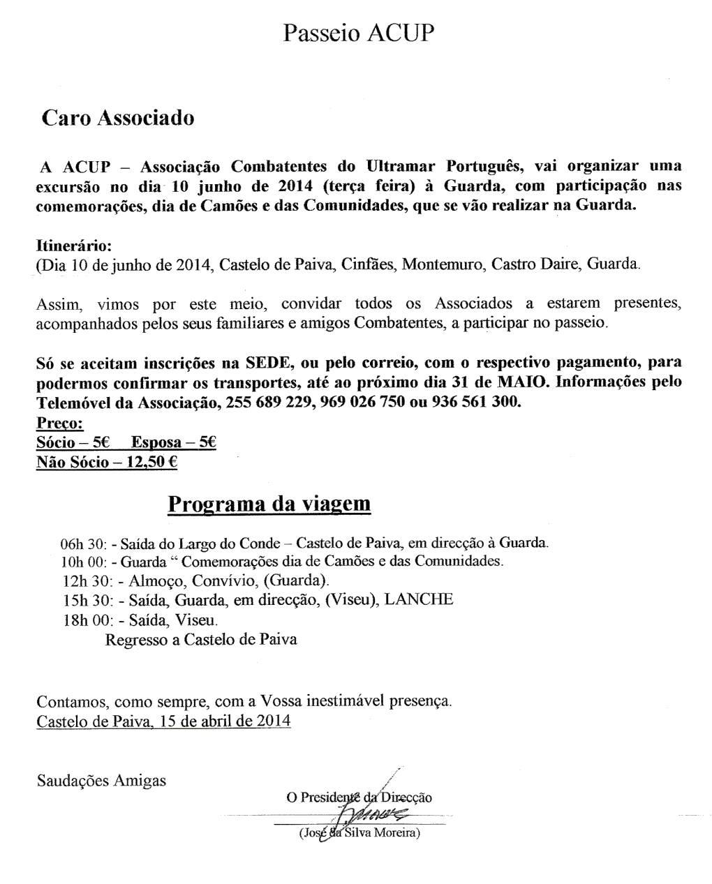 Notícias da ACUP - Associação de Combatentes do Ultramar Português 05_pas10