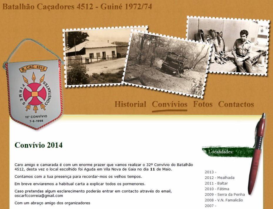 32.º Convívio do Batalhão Caçadores 4512 - Aguda - Vila Nova de Gaia - 11Mai2014 Bcac4510