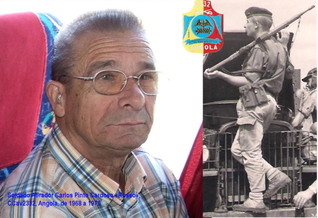 Faleceu o veterano Carlos Pinto Cardoso «Russo», da CCav2332 - 14Abr2014 Carlos13