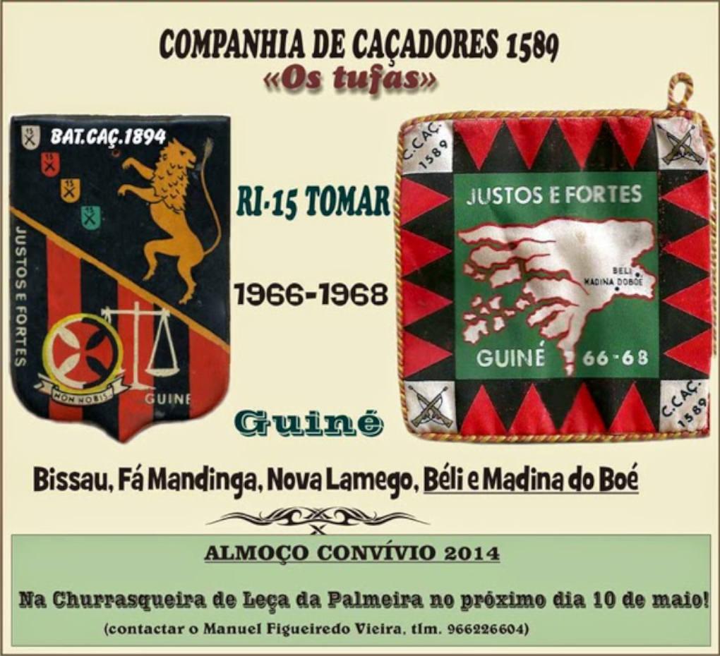 Almoço Convívio da CCac1589/BCac1894 - Leça da Palmeira - 10Mai2014 Ccac1510