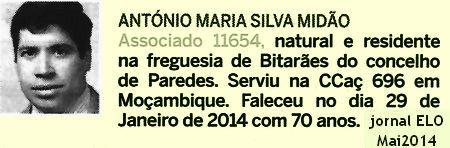 Notas de óbito - 8 veteranos da guerra do Ultramar, publicadas no jornal ELO, de Maio 2014, da ADFA Ccac6910