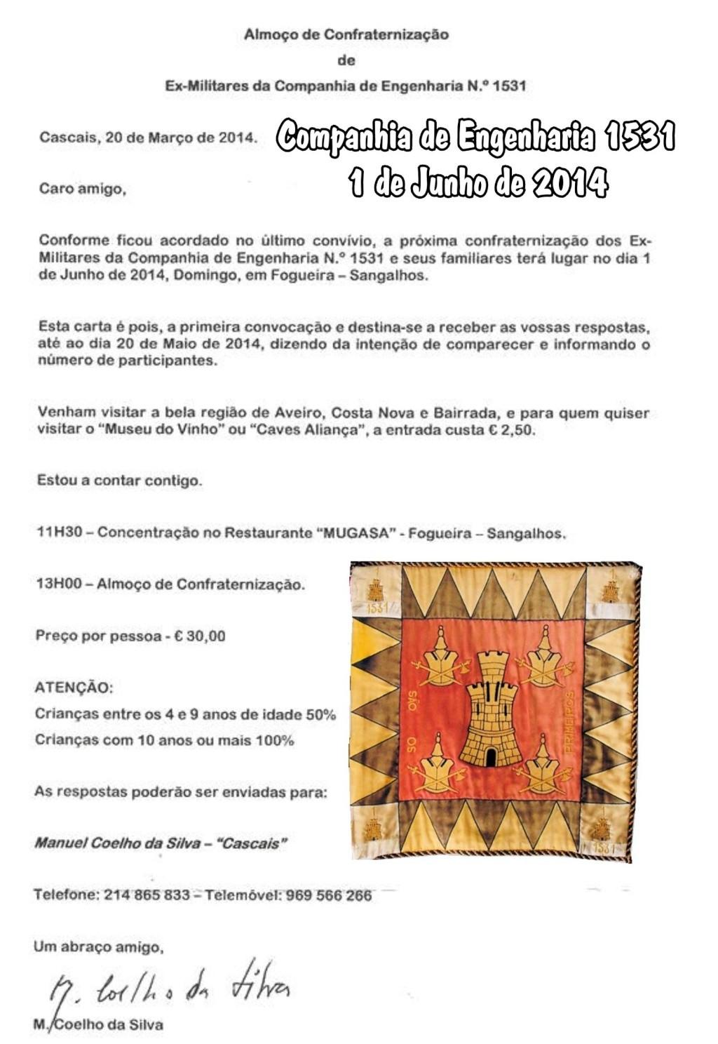Confraternização dos Militares da Companhia de Engenharia 1531 - 01Jun2014 - Fogueira (Sangalhos) Ceng1511