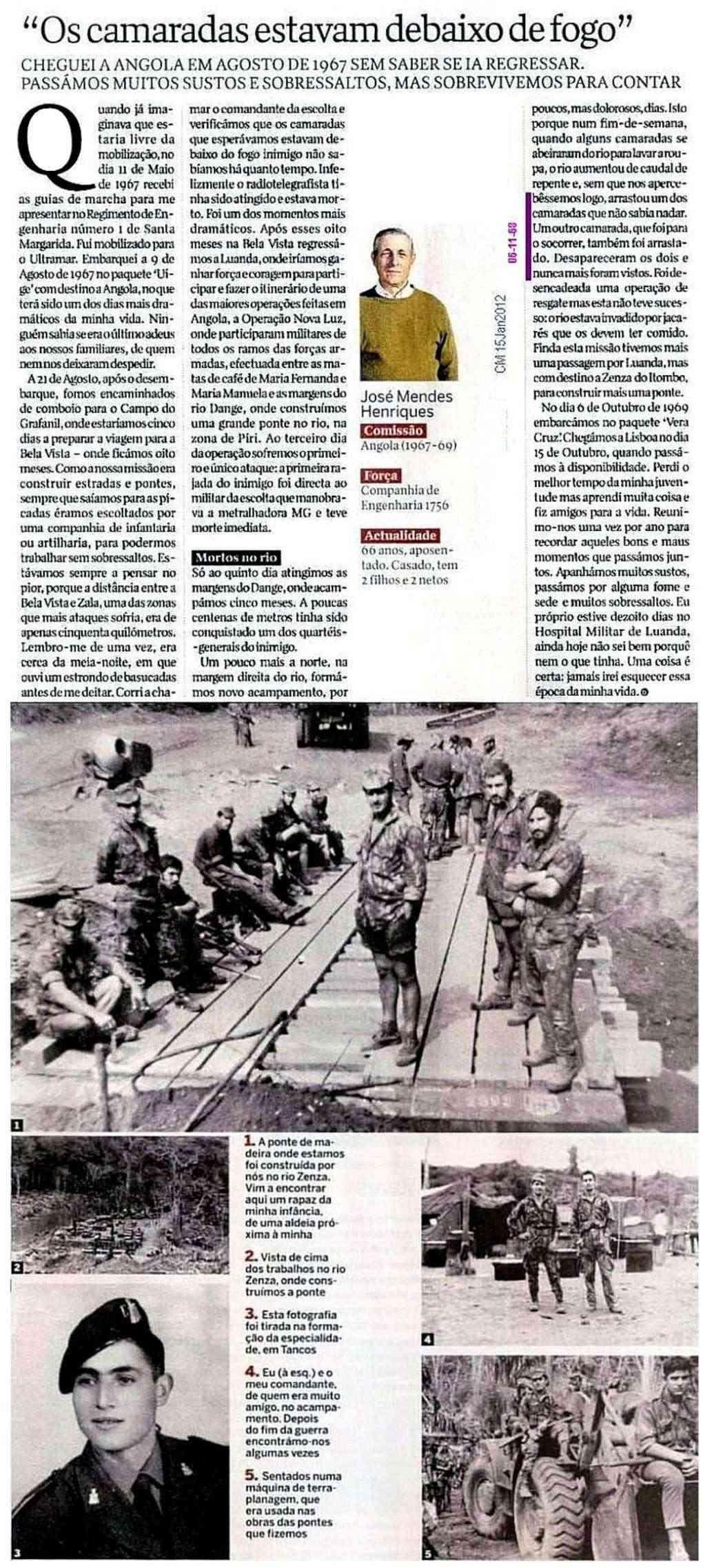 CEng1756: Máquinas, Trabalhos, Construção e Louvor (Angola 1967 a 1969) - Jeremias Henriques Ceng1710