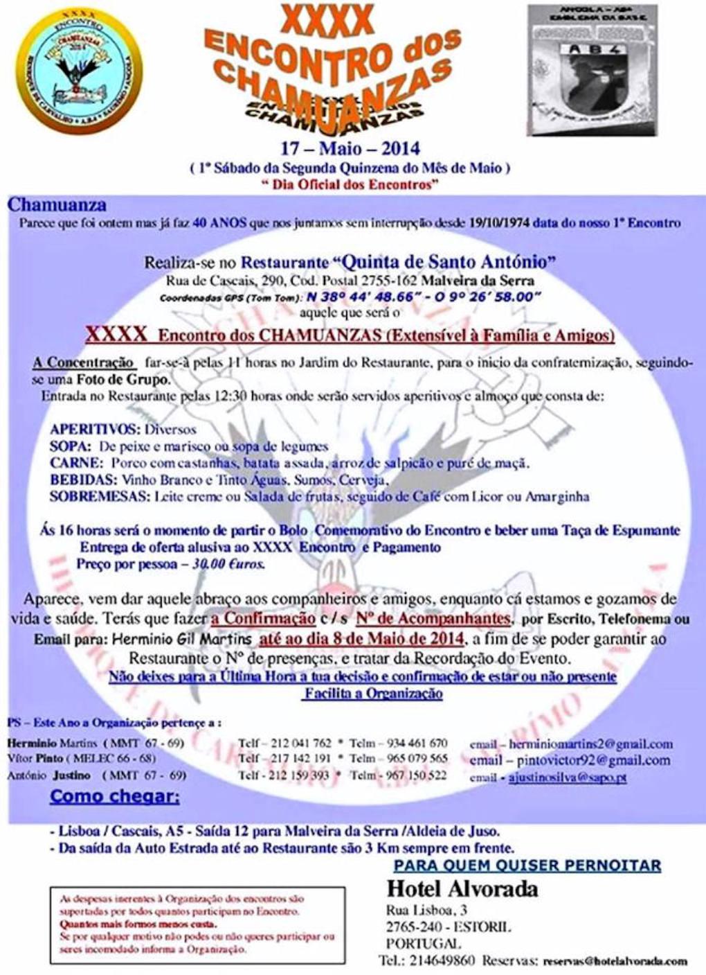 XXXX Encontro dos Chamuanzas - Aeródromo Base 4 - Malveira da Serra - 17Mai2014 Chamua10