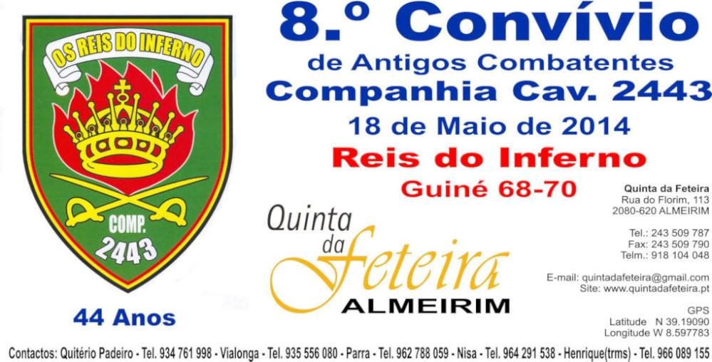 18Mai2014 - 8.º Convívio da Companhia de Cavalaria 2443 - Almeirim Compan12