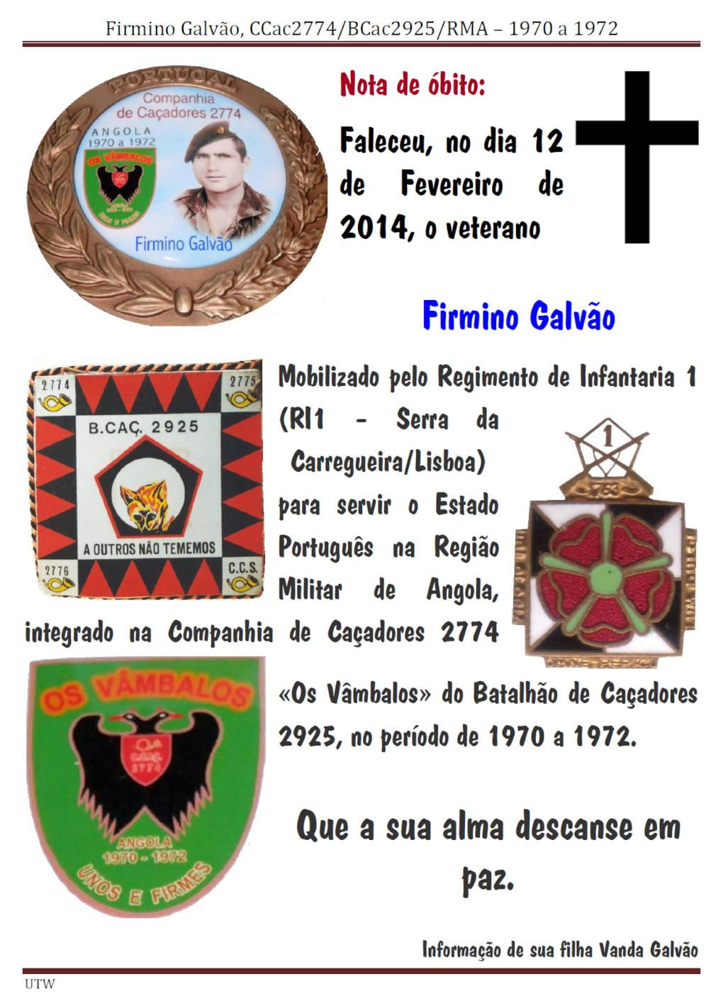Faleceu o veterano Firmino Galvão - CCac2774/BCac2925 - 12Fev2014 Firmin10