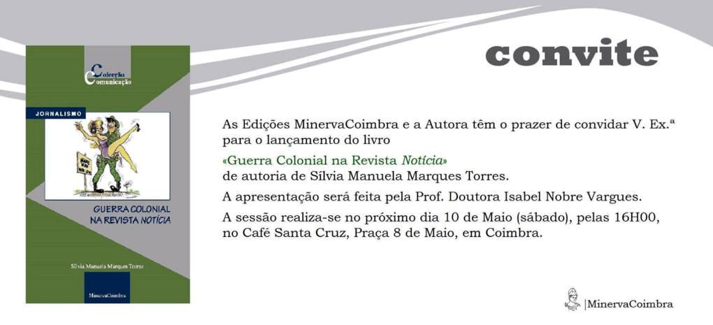 Lançamento do livro «Guerra Colonial na Revista Notícia», em Coimbra, dia 10Mai2014 Lancam10