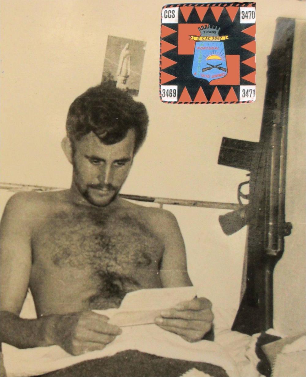 Faleceu o veterano Manuel Bernardino Gomes, da CCac3470/BCac3867/RMM - 22Mai2014 Manuel13