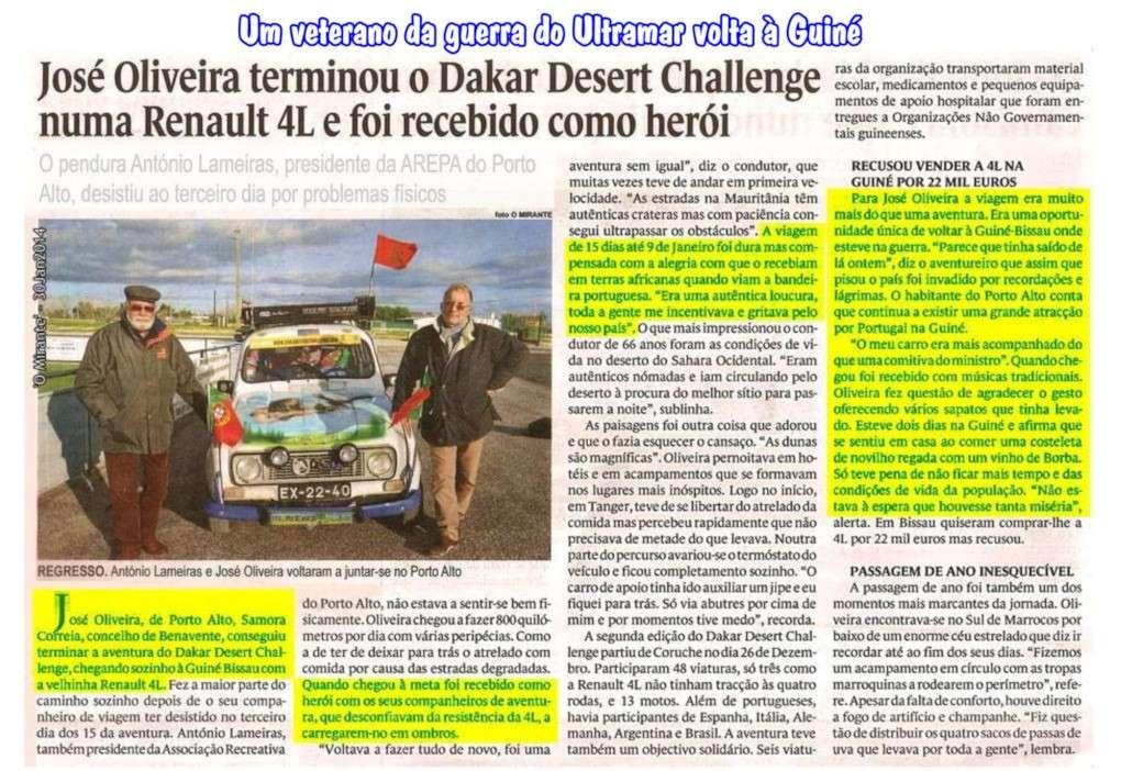 José Oliveira, um veterano da guerra do Ultramar, volta à Guiné ... e foi recebido como herói Pictur13
