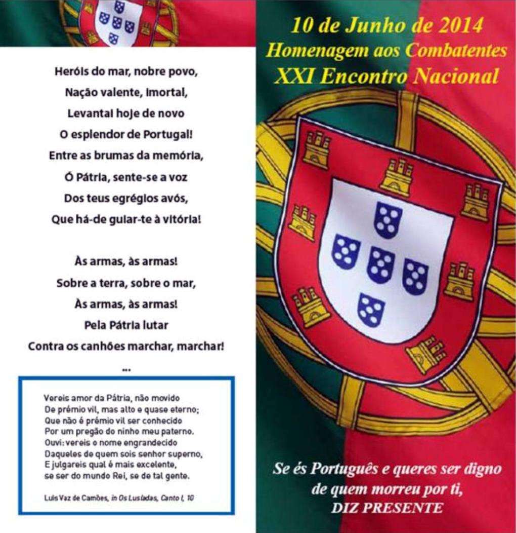 10Jun2014: XXI Encontro Nacional de Combatentes - Forte do Bom Sucesso - Lisboa Xxi_en10