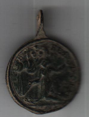 Médaille ND-de-Lorette & Bernard d'Offida - XVIIIème A2710