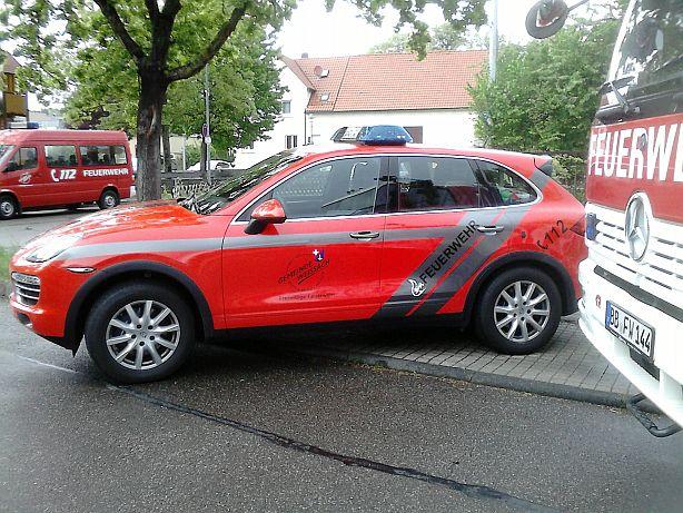 Porsche Cayenne   -Feuerwehr- Ffw210