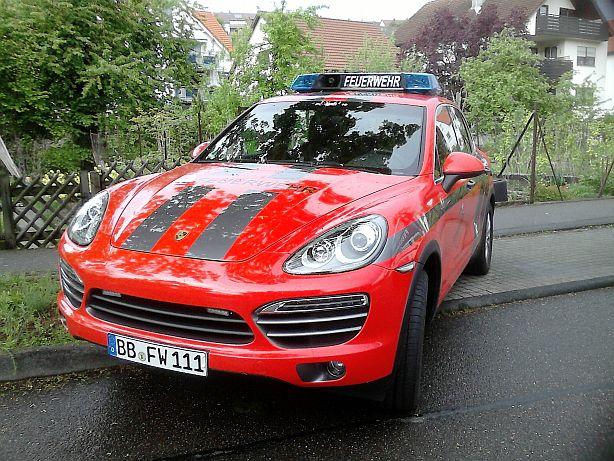 Porsche Cayenne   -Feuerwehr- Ffw310