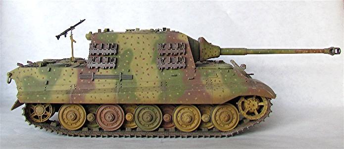 Projet Jagdtiger (x4) 1/35 00510